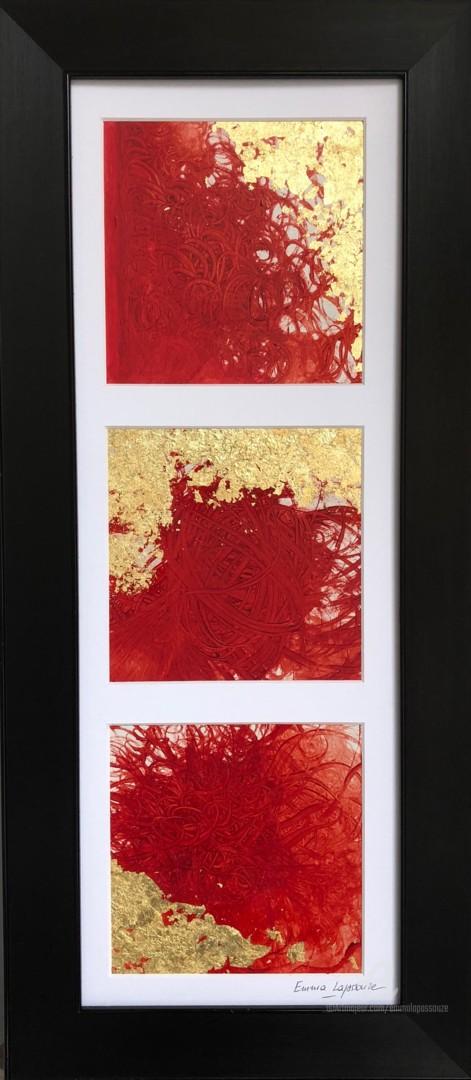 Emma Lapassouze - Abstraction rouge