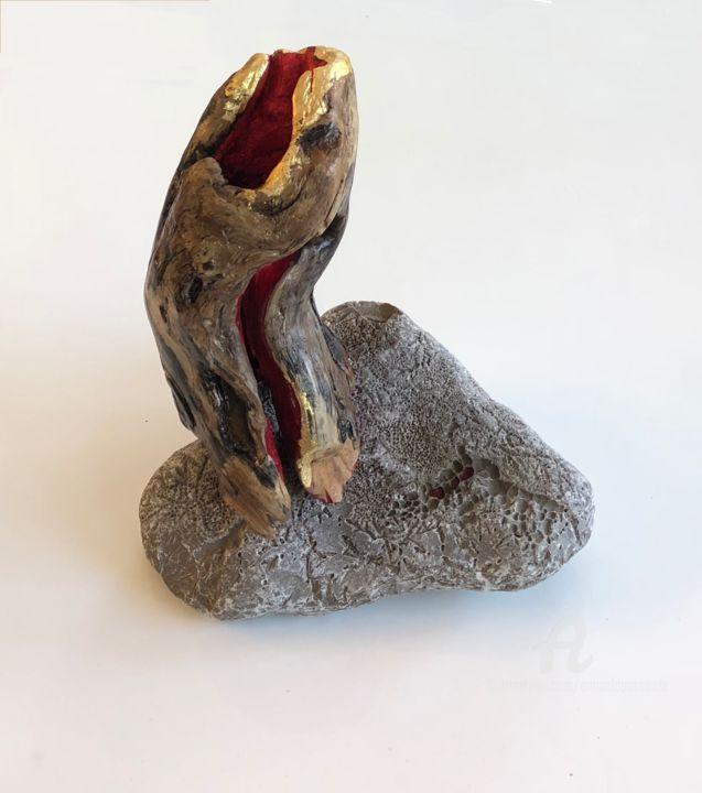 Emma Lapassouze - Équilibre sur pierre