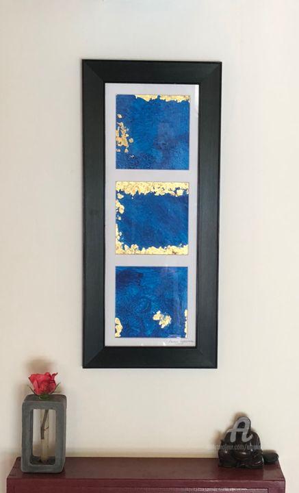 Emma Lapassouze - Abstraction bleue